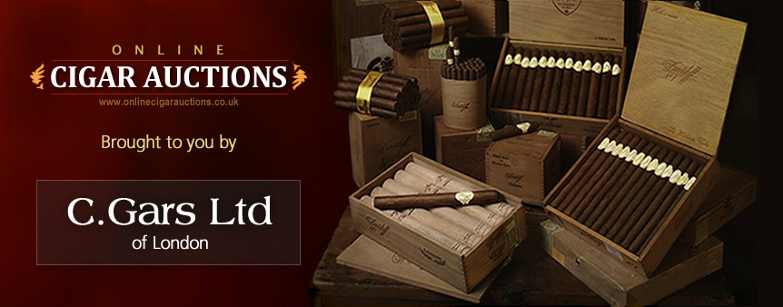 Online Cigar Auctions - Brought to You by C.Gars Ltd