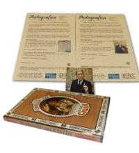 Lot 227 - Davidoff Autographed Book and Photograph
