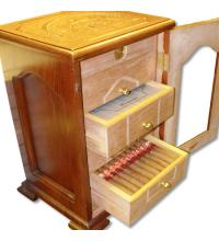 HUM 215 - H. Upmann 160th Anniversary Humidor with 100 cigars - 2004
